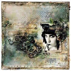 Scrapbook Layout - Anna Dabrowska