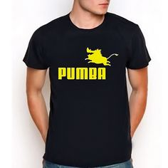 Lion King Pumbaa Tshirt... the only thing is they spelled Pumbaa wrong.