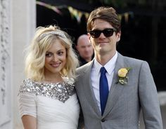 Fearne Cotton pulled off the most perfect casual smart wedding hairstyle. Have a look at our blog for more wedding hair inspiration.