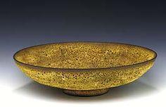 Low Bowl with Lava Glaze  James Lovera Born: 1920   glazed stoneware