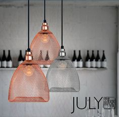 2015 Scandinavian modern minimalist fashion design bar restaurant Bobby empty cage Iron Pendant Light