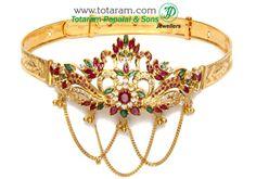 Totaram Jewelers: Buy Indian Gold jewelry & 18K Diamond jewelry: Arm Vanki