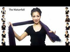 #ModaTeen: 25 maneiras de usar lenços - YouTube