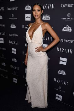 """Lais Ribeiro attends Harper's Bazaar's celebration of """"ICONS By Carine Roitfeld"""" presented by Infor, Laura Mercier, and Stella Artois at The Plaza Hotel on September 9, 2016 in New York City."""