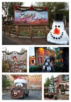 18 Reasons to Go to Disneyland for Christmas: Cars Land