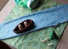 A story bag for telling the life story of St Patrick