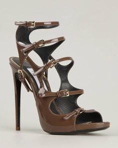 MARCO PROIETTI DESIGN 'Multi Buckle' Sandals