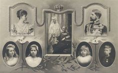 Family of King Ferdinand and Queen Marie of Romania Queen Mary, King Queen, Romanian Royal Family, Royal Family Trees, Royal King, Kaiser, Ferdinand, Vintage Photos, Reign