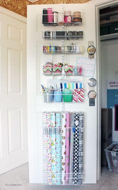 Office Doors, Craft Closet, Linen Closet Organization, Craft Storage, Craft Rooms