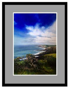 #morwenstow #acrylicpainting #coastalliving #coast #northcornwall #cornwall North Cornwall, Coastal Living, Sea, Canvas, Brown, Painting, Tela, Painting Art, The Ocean