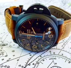 Borrowed Time: On the Waves With the Panerai Luminor 1950 Chrono Flyback Ceramica   WatchTime - USA's No.1 Watch Magazine