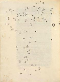 Une page du Messager des étoiles, Sidereus Nuncius, de Galilée, édition originale de 1610, via chemin faisant