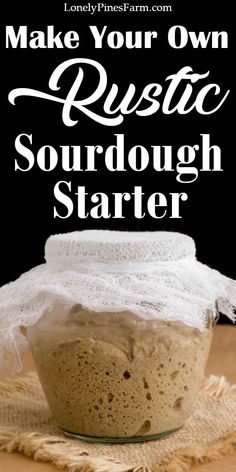 What is sourdough starter? It's a magical mixture that replaces rising agents with nutritious, fermented goodness. You can mix this into traditional recipes - for added flavor and ease of digestion - or whip up a batch of sourdough bread! It's a great project for beginner bakers. With this recipe, you can be eating homemade sourdough bread in less than a week! Healthy Bread Recipes, Real Food Recipes, Food Tips, Sourdough Recipes, Sourdough Bread, How To Make Bread, Bread Making, Brewing Recipes, Healty Dinner