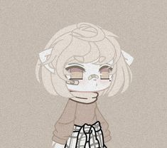 Character Outfits, Cute Anime Character, Cute Anime Chibi, Kawaii Anime, Club Hairstyles, Flower Background Wallpaper, Club Design, Club Outfits, Anime Outfits