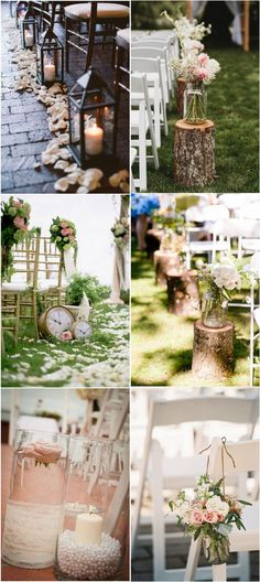 vintage wedding aisle decoration ideas #weddingideas #weddingthemes #vintagewedding #weddingdecor