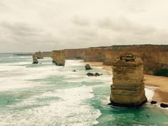 Great ocean road! #greatoceanroad  #12apostles #aussieass #australia by fun_pow