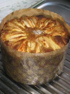 Nuskocina: Bizcocho de frutas en papel de panetone