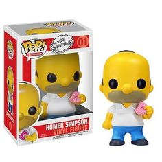 RARE FUNKO POP TELEVISION HOMER SIMPSON VINYL FIGURE Retired
