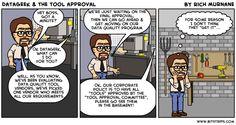 Rich Murnane's Blog: DataGeek & the tool approval...