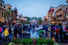 Main Street on a rainy day