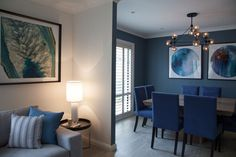 Living and Dining by Jodie Carter Design