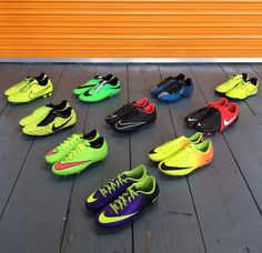 brand new 078ce 64987 Nike Football Boots Bundle Mens Shoes Joblot Boys Trainers size UK 4.5 5 5.5