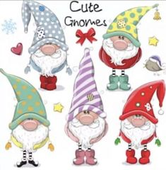 Christmas Rock, Christmas Gnome, Christmas Crafts, Christmas Decorations, Christmas Ornaments, Cartoon Mignon, Black And White Cartoon, Christmas Drawing, Xmas Drawing