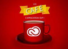 Un café l'Application SVP, nouveau concept de vidéos signé Adobe