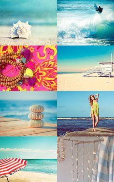 beach life etsy treasury--Pinned with TreasuryPin.com