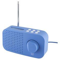 Tesco DR1403B DAB Radio Blue - one cool radio!