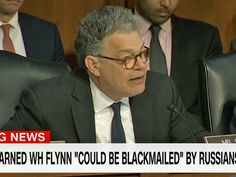 'A danger to this republic': Sen. Al Franken asks why the Trump administration took so long to fire Michael Flynn