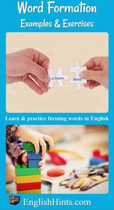 This page explains how words are formed in English and the way suffixes change their use. It provides multiple examples and a practice exercise choosing the correct word forms to fill in the blanks in sentences (tolerate, tolerant, toleration, etc.)
