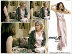 Camisola da Mari M Lingerie no seriado Entre Tapas e Beijos!!!
