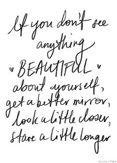 #quote - Everybody is beautiful