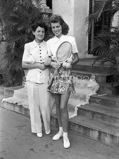 Eunice and Rose Kennedy, Palm Beach