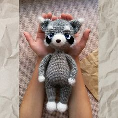 Crochet Animal Patterns, Crochet Doll Pattern, Stuffed Animal Patterns, Crochet Patterns Amigurumi, Crochet Dolls, Doll Patterns, Handmade Ideas, Handmade Crafts, Pattern Cute