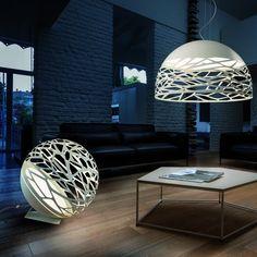 Studio Italia Kelly Large Sphere Standing Lamp