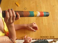 Didgeridoo Craft for Kids