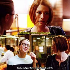 Danvers sisters are my favorite relationship on all tv