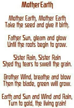 Wiccan Mother Earth
