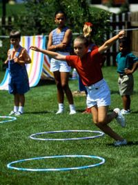 Backyard games - great ideas for a family gathering!