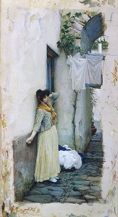 John William Waterhouse.
