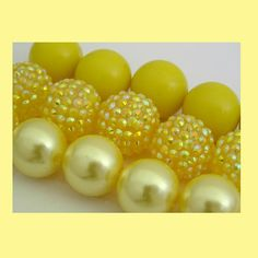 Mix Chunky Beads Rhinestone Beads 20mm Gumball Style Beads DIY Chunky Necklace Basketball Wives Disco Ball Berry Beads