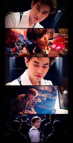 Its the love shot Exo Chen, Baekhyun Chanyeol, Exo Kai, Exo Ot12, Chanbaek, Kim Joon Myeon, Exo Lockscreen, Kpop Exo, Exo Members