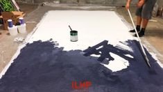 How to Paint an Oliphant or Schmidli Style Photo Backdrop | ilovehatephotography
