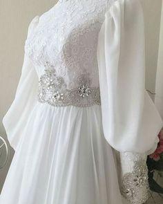 Muslim Wedding Gown, Muslimah Wedding Dress, Muslim Wedding Dresses, Wedding Hijab, Wedding Party Dresses, Bridal Dresses, Prom Dresses, Beautiful Gown Designs, Stylish Dress Designs