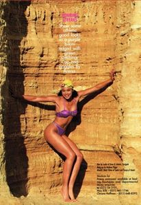 Flying Springbok Swimwear editorial Jhb mine dumps