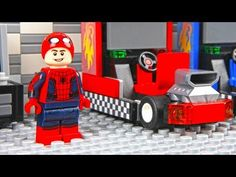 Lego Spiderman Arcade Game Car Race is a Funny Lego Stop Motion Animation. Motion Video, Stop Motion, Iron Man Cartoon, Lego Spiderman, Red Butterfly, Buy Lego, Lego Instructions, Great Videos, Fun Games