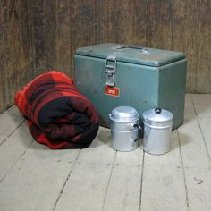 Vintage Camp Cooler