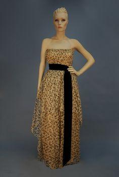 Tokyo doll black lace net prom dress